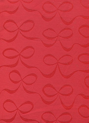 Kate Spade All Wrapped Up Cranberry Red Tablecloth, 60-by-120 Inch Oblong Rectangular