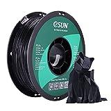 eSUN PLA+ Filament 1.75mm, PLA Plus 3D Drucker Filament, Maßgenauigkeit +/- 0.03mm, 1KG (2.2 LBS) Spule für 3D Drucker in Vakuumverpackung, Schwarz