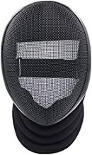 ThreeWOT Fencing Mask, Fencing Coaches Mask,350N CE Certification Fencing Protective Gear(Contain Storage Bag) (X-Large, Fixed)