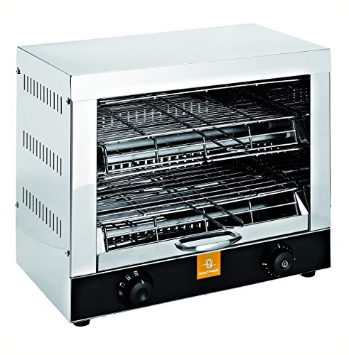PEGANE Toaster Professionnel 2 étages 3000W
