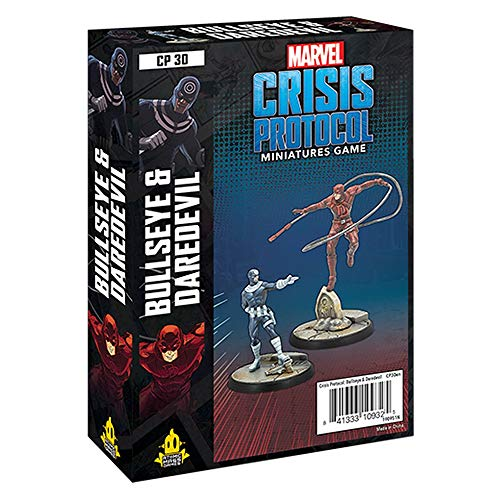 AM Marvel Crisis Protocol: Bullseye and Daredevil Pack