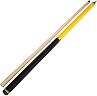 ZXH Pool Cues, 58 Inch Handmade 1/2 Joint Maple Rush American Cue Hardwood Very Nice Grip 13mm Tip