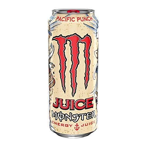 Monster Pacific Punch, bevanda energetica PMP 500 ml, confezione da 12
