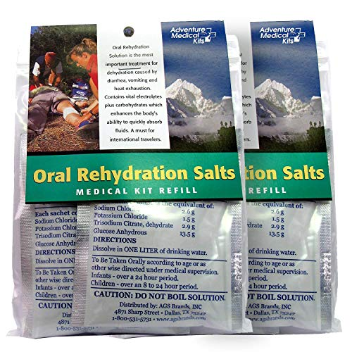 Adventure Medical Kits Oral Rehydration Salts, 3-Pieces (Pack of 2)
