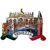 3D Venecia Italia Imán para nevera de viaje recuerdo regalo hogar cocina decoración etiqueta magnética colección