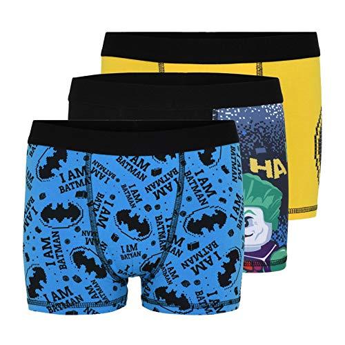 LEGO Jungen Batman Boxer 3 Pack Boxershorts, 995, 104