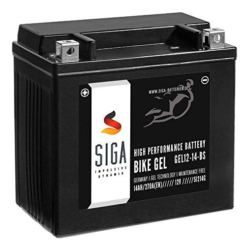 SIGA Gel Batterie 14Ah 12V 270A/EN Stützbatterie Backup Battery A211 541 00 01