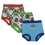 PJ Masks Boys' Toddler 3pk Potty Training Pant, PJ Marina Sky/Multi, 3T