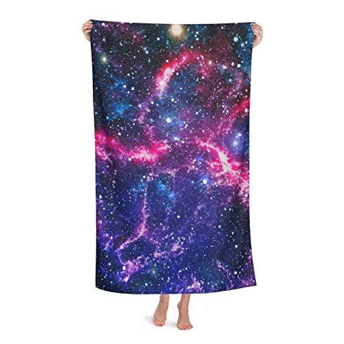 Toallas de playa absorbentes de gran tamaño para Galaxy Nebulosa del espacio exterior, toallas de mano grandes para natación, baño, spa, piscina
