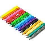 MOVKZACV Lápices de colores al óleo de 16 unidades para adultos y niños, lápices de colores preafilados, perfectos para dibujar, pintar y escribir