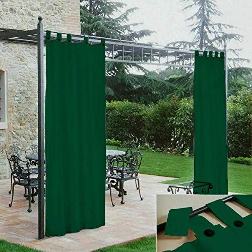 Morbidissimi Tenda Gazebo Idrorepellente con Passanti 140x270 cm - Verde Z159