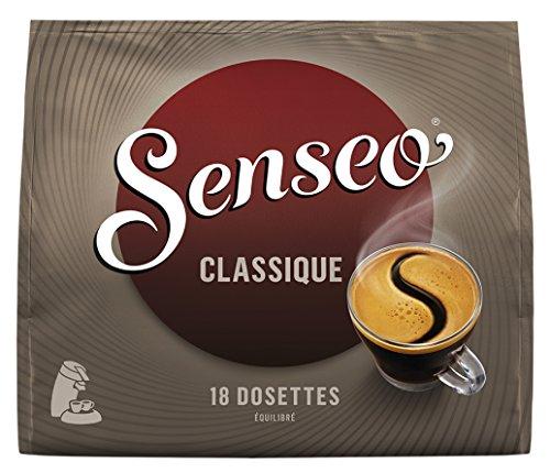Senseo Caf Classique 180 Dosettes Souples (Lot de 10x18...