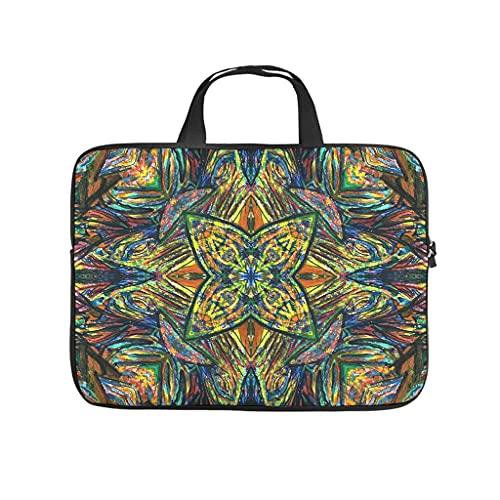 Facbalaign Cultura - Funda para portátil con diseño nacional para tablet, impermeable, suave, resistente al desgaste, con asa