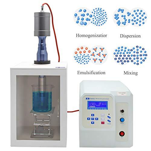 1800W Ultraschall homogenisator sonicator Prozessor Zelle disruptoren Mixer 50ml-3000ml