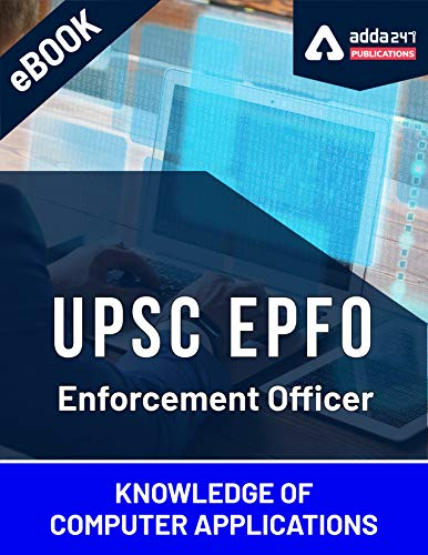 UPSC EPFO Enforcement Officer 2020 Computer eBook English Medium (English Edition)