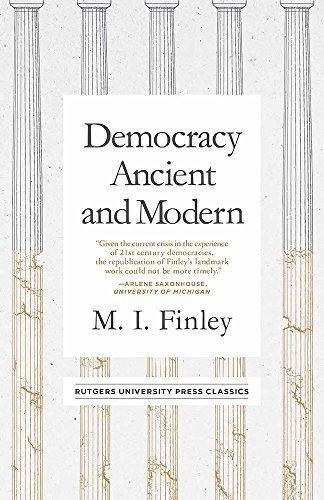 Democracy Ancient and Modern