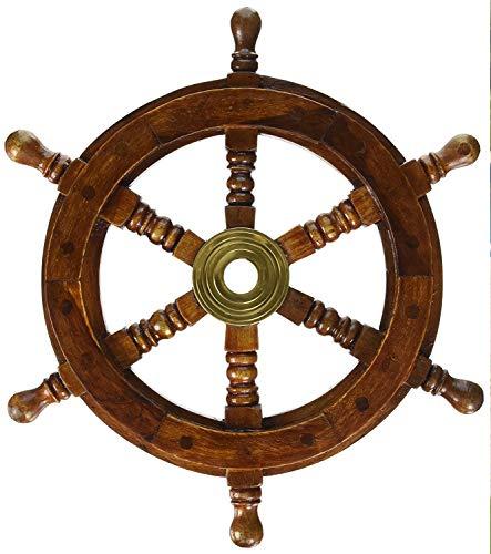 Sailors Special - Rueda de barco de 12 pulgadas, madera, 12 pulgadas
