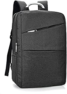 13-14 Inch Black Canvas Outdoor Laptop Backpack Bag Compatible Microsoft Surface Laptop 2 / Surface Book 2 / Samsung Notebook 7 Spin / 9 Pen / 9 / HP EliteBook 830 G5 / Envy 13t / Spectre x360 / 13