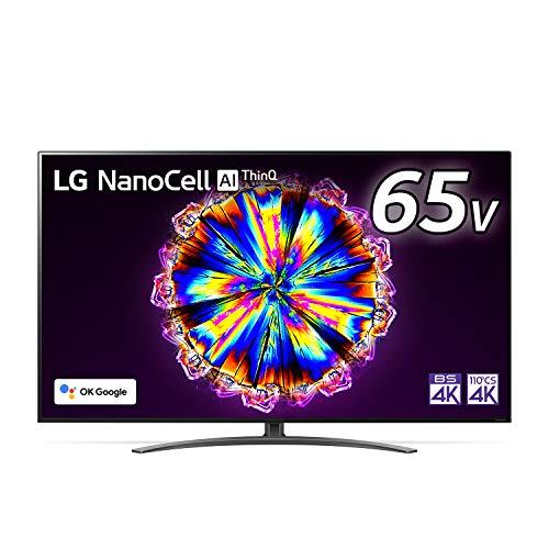 LG 65型 4Kチューナー内蔵 液晶 テレビ 65NANO91JNA IPSパネル Alexa 搭載 2020 年モデル