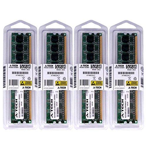 16GB KIT (4 x 4GB) for MSI Motherboard P55-GD80 P55-GD85 P55M-GD41 P55M-GD45 P55M-SD40 P55-SD50 P67A-C43 P67A-C45 P67A-G43 B3. DIMM DDR3 Non-ECC PC3-8500 1066MHz RAM Memory. Genuine A-Tech Brand.