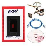 Qiilu AK90+ Key Programmer for BMW EWS Auto Key Programmer AK90+ Car Key Programmer V3.19 Match Diagnostic Tool for EWS AK90 Key-PROG