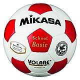 ミカサ(MIKASA) サッカー 日本サッカー協会検定球4号(小学生用) 白/赤 SVC402SBC-WR
