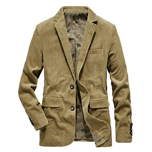 Vovotrade Mannen Outwear jas Corduroy Mannen Sakko blazer pak jas business vrije tijd slim fit pak jas mode herfst winter casual warm verdikken