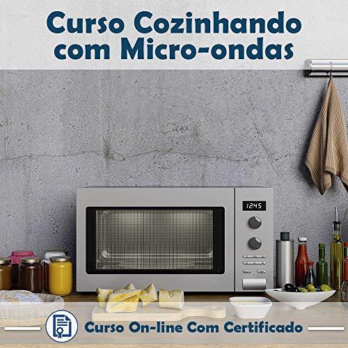 Curso online em videoaula sobre Cozinhando com Micro-ondas com Certificado