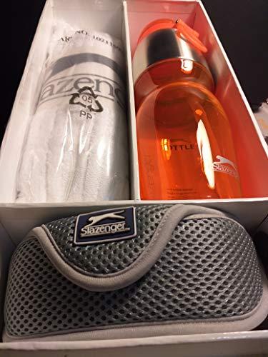 Slazenger Set mit Trinkflasche, Brille und Schwamm