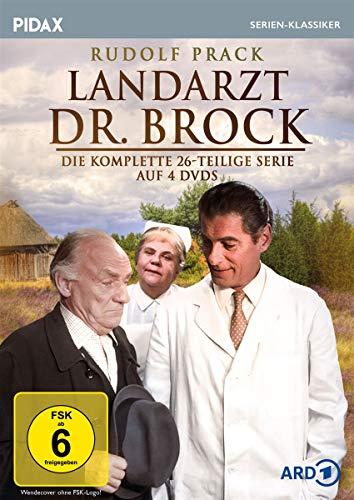 Landarzt Dr. Brock / Die komplette 26-teilige Kultserie (Pidax Serien-Klassiker) [4 DVDs]