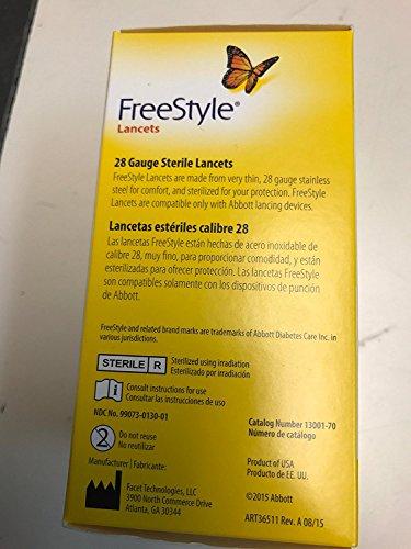 buy Lancet Freestyle 13001 100 Diabetes Care