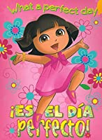 Dora El Dia Perfecto 40x50 Mink Style Blanket in Gift Box by Dora the Explorer