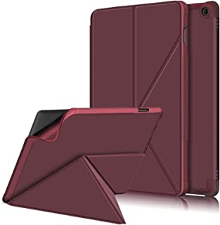 A-BEAUTY Case for Amazon Fire HD 10/Fire HD 10 Plus (11th Gen 2021 Release), Origami Type Standing Multi-Angle Magnetic Pr...