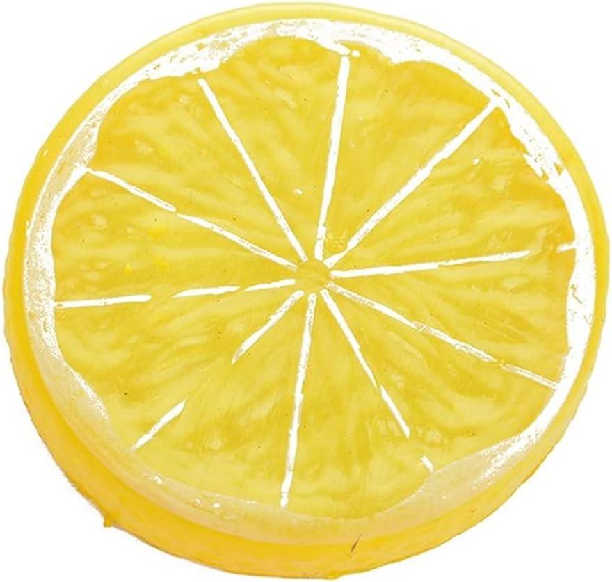 JSJJEDC San Antonio Mall Artificial Ranking integrated 1st place Fruit 10pcs Slices Lemon Simulatio