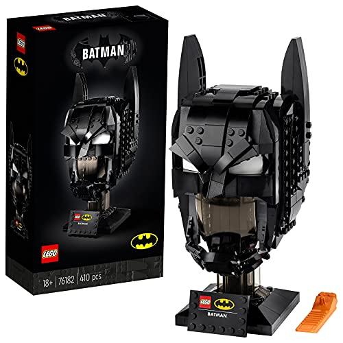 LEGO DC Cappuccio di Batman, Set da Costruzione per Adulti, Modello da Collezione dei Supereoi, 76182