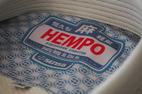 Hempo 100% Hemp Jiu Jitsu Gi Uniform BJJ (A0) Light...