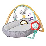 Taf Toys 4 in 1 Music & Light Thickly Padded Newborn Cozy Mat | Interactive Baby Mat. Babys Activity & Entertainment Center, for Easier Development and Easier Parenting