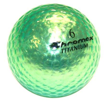 Golf Chromax M1 Golf Ball Green Shiny New