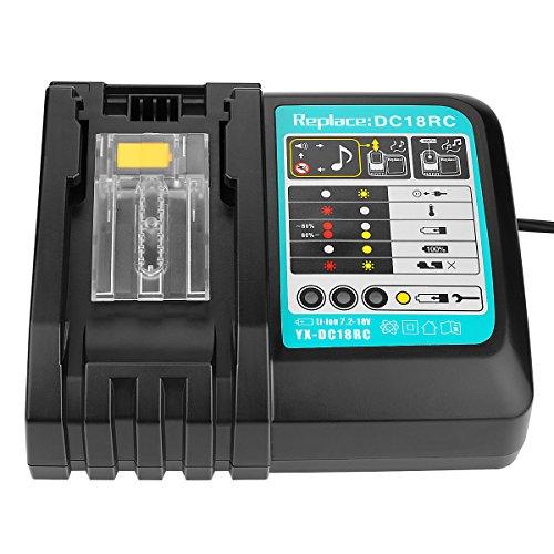 OPSON Reemplazo de batería de herramienta de iones de litio para Makita...