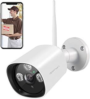 APEMAN Outdoor Security Camera Wireless 1080P Home Surveillance System WiFi IP Camera CCTV IP66 Waterproof Night Vision Motion Detection Compatible with iOS/Android Systems