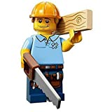 LEGO Minifigures Series 13 Carpenter Construction Toy by LEGO
