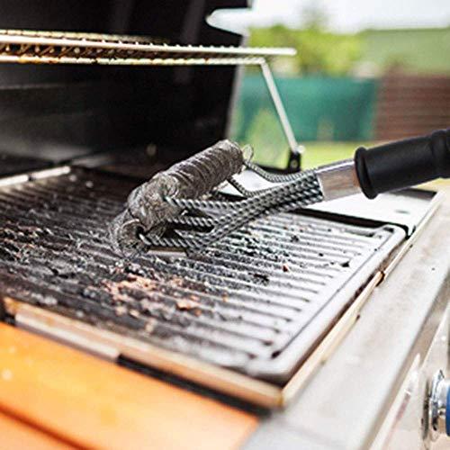 51Pg5DiJaiL. SL500  - LHD Safe Grill Brush - Borste Kostenlose BBQ Grill Cleaner/Scraper - 18 '' Edelstahl-Grill-Reinigungs-Wäscher Grill Zubehör for Clean All Grill Grates
