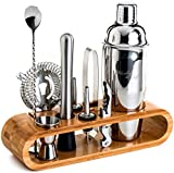 Everything You Need (Except For The Booze): 10-Piece ALL-Inclusive bartender set of top shelf cocktail tools. Will give you the power to whip up impressive cocktails for your guests. Whether you're an amateur bartender or a professional cocktail mixi...