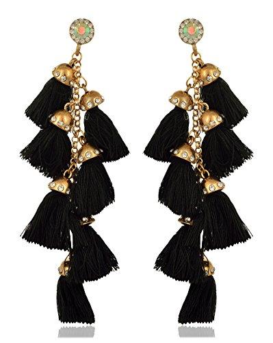Access-o-risingg Tassel Earrings Price in India