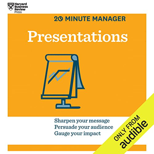 Presentations audiobook cover art