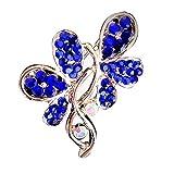 Cosanter Broche De Diamantes De Imitación Ramillete De Mariposas Adecuado Para Bufanda Chal Abrigo...
