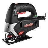 Craftsman 9-2190 5.0 Amp Jig Saw | Variable Speed | 3 Position | Guaranteed | Dual Beveling | Tool-Less Blade Change | Blades | Hex Key | 1 1/4 Vac Adapter | Wood & Metal