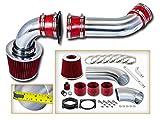 Rtunes Racing Cold Air Intake Kit + Filter Combo RED Compatible For 01-04 Ford Explorer/Ranger 01-03 Mazda B4000 V6 4.0L SOHC