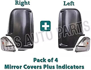MERCEDES SPRINTER INDICATOR LENS AND WING MIRROR CASIN LEFT DRIVER AND RIGHT PASSENGER SIDE 2007 TO 2016