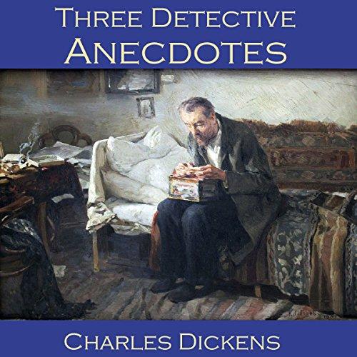 Three Detective Anecdotes audiobook cover art